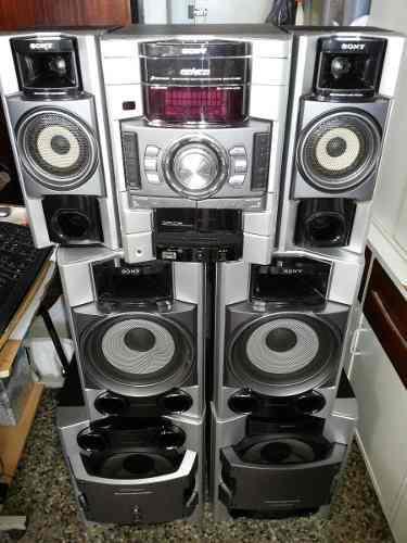 Equipo sonido sony genezi 6 cornetas ** pregunte precio **