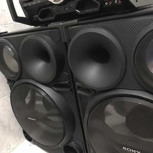 Sony genezi 2000w equipo de sonido