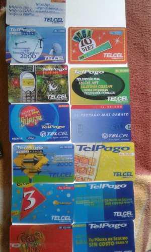 Tarjetas telefonicas vintage usadas.en 3d