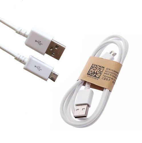 04e3cbc16 Cable micro usb v8 samsung cargador datos carga rapida 1mt