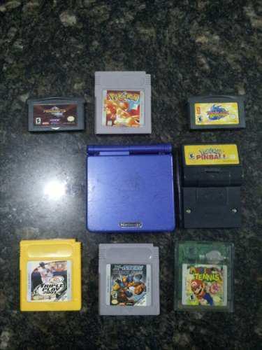 Game Boy Advance Sp Con Juegos Incluidos