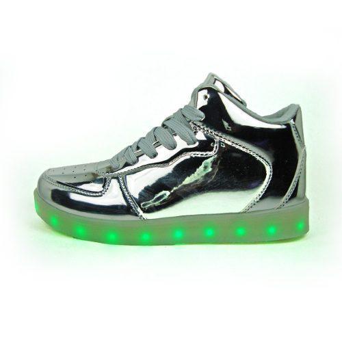 5448b9a4 Zapato botin deportivo luces led + usb juvenil 35 al 40