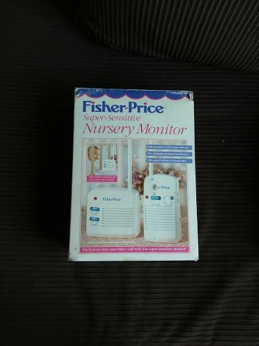 Monitor o intercomunicador para bebes fisher price