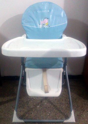 Silla de comer ajustable plegable y portátil para bebes