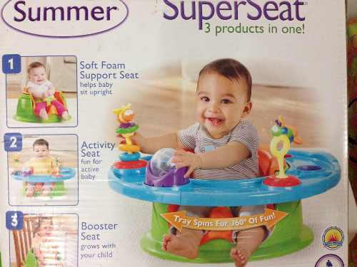 Summer silla para comer y jugar 3 en 1 / cebra brinca brinca