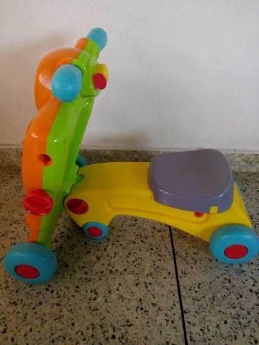Andadera y carrito 2 en 1 para bebes