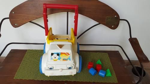 Camioncito andadera caminadora fisher price para bebes(25)