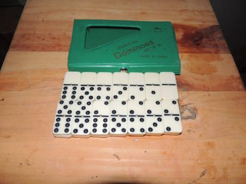 Domino standard casero juego de mesa familiar 28 piezas