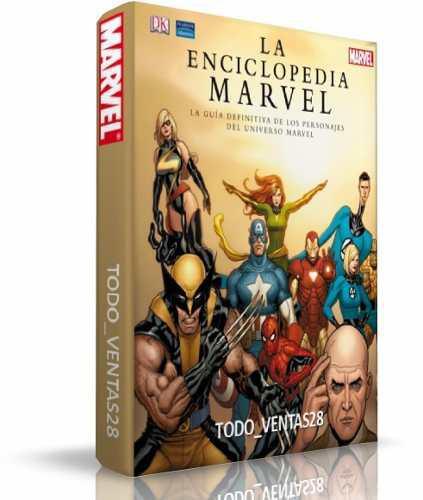 La enciclopedia marvel (2007) todos los personajes libro pdf