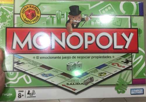 Monopolio delux juego de mesa original hasbro original