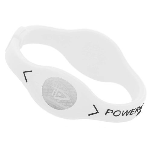 Pulsera brazalete flexible power balance talla s, blanco