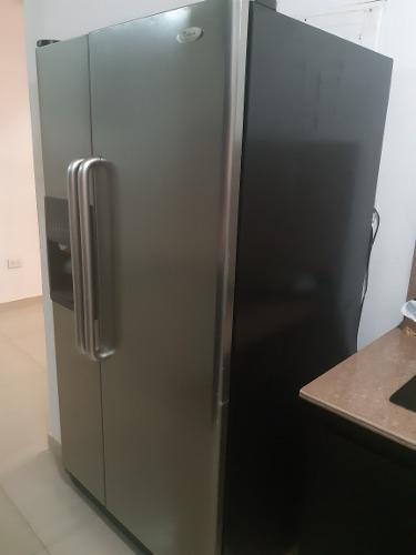 Nevera congelador dos puerta whirlpool