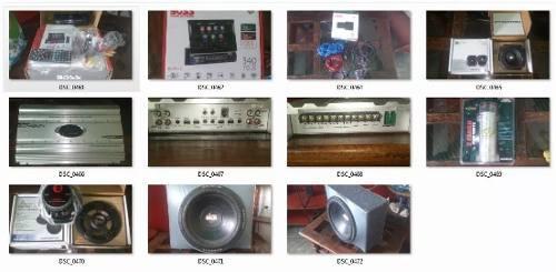 Combo sonido para carro reproductor planta bajo