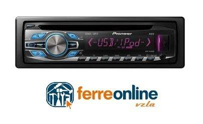 Reproductor carro pioneer deh-3450ub original mp3 usb nuevo