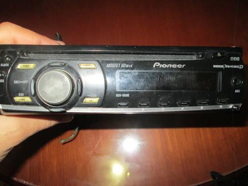 Reproductor de carro pioneer deh-1050e y con control pioneer