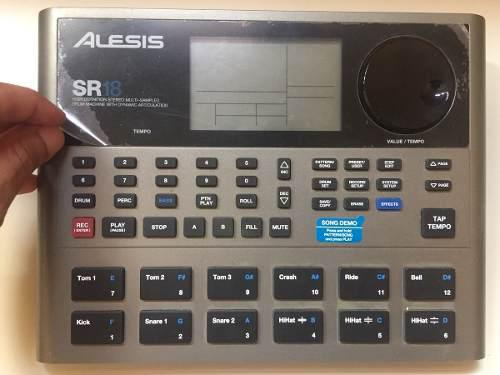 Batería electrónica alesis sr18