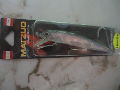 Señuelo de pesca matzuo america prism shad (suspendin).