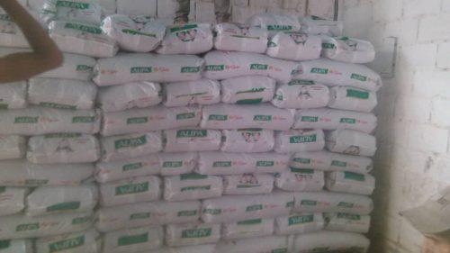 Alimento animal para vacas, cerdos y gallinas sacos de 35 kl