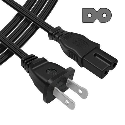 Cable de poder ac playstation decodificador directv 1.2 mts