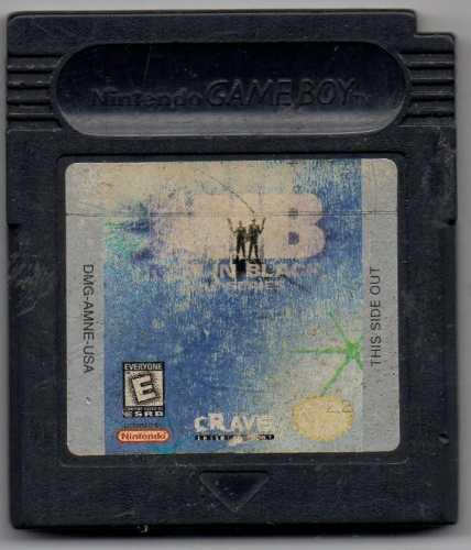 Men in black the series. game boy juego original usado a4