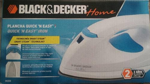 Plancha black and decker home quick´ n easy iron