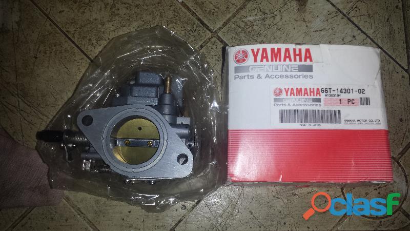 Carburador yamaha 40x original nuevo.