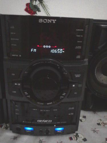 Equipo de sonido sony genezi casi nuevo