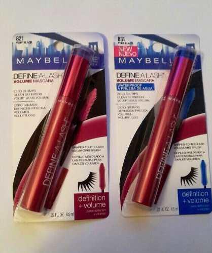 Mascara- rimel maybelline original a prueba de agua negros
