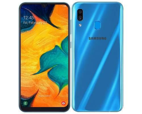 Samsung galaxy a30 3gb/3gb lte android 4g huellas 6.4 pulgad