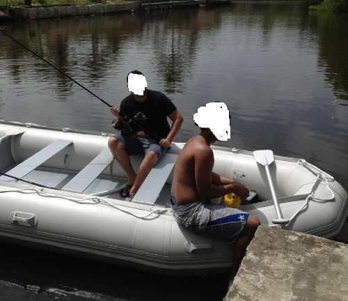 Vendo bote inflable con fuera de borda mercury 15hp dinghy