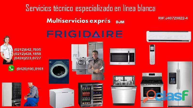 Servicios técnico en refrigeración y linea blanca
