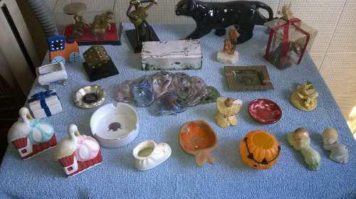 Adornos Diversos,de Metal,cerámica,porcelana... (lote De