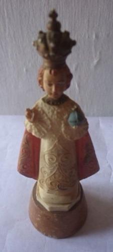 Antigua escultura italiana religiosa divino niño !oferta!!