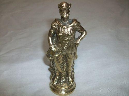 Estatua Escultura Oferta Remate Total Figura Bronce Retro