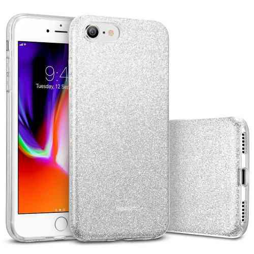 Forro escarcha iphone 6 6g 6s plus 7 plus case escarchado