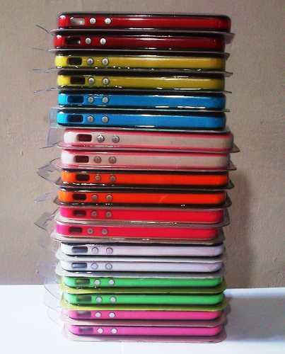 Protector 2x1 bumper iphone 4 4s escoja su color favorito