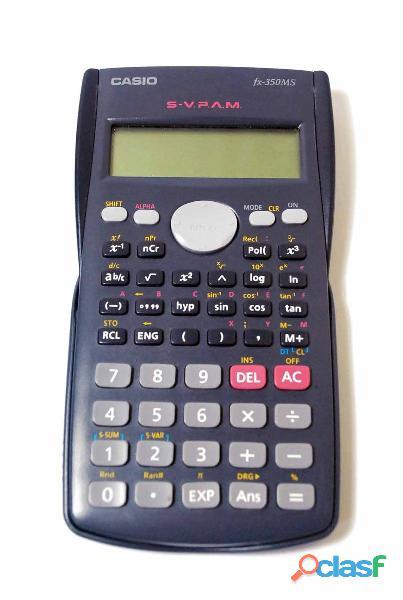 Calculadora cientifica casio fx 350ms