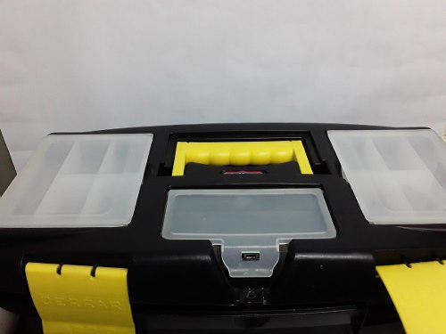 Caja de herramientas 16x40 pulgadas alfa hogar
