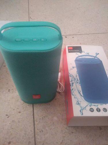 Corneta portatil jbl j40 bluetooth mp3 ipod celulares