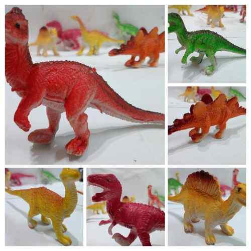 Dinosaurio variados para regalo 6 piezas remate juguete new