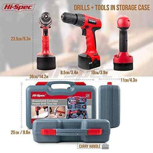 Herramienta hi-spec kit 26 repuesto para hogar oz amz