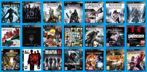 Playstation 3 juegos digitales y chipeo