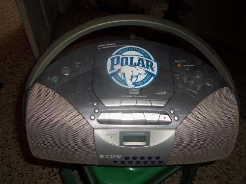 Radio reproductor portatil sony