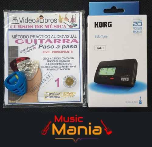 Afinador electronico korg ga-1 para guitarra con obsequios