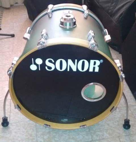 Bateria sonor force 2005 studio full birch shell pack