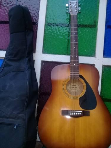 Guitarra folk acustica marca yamaha f310tbs como nueva