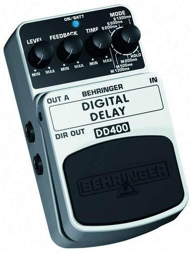 Pedal de guitarra behringer digital delay dd400