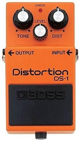 Pedal de guitarra boss ds-1 distortion pedal