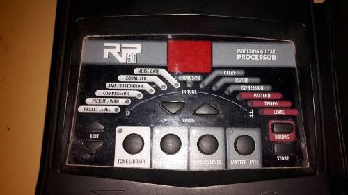 Pedal multiefectos digitech rp90