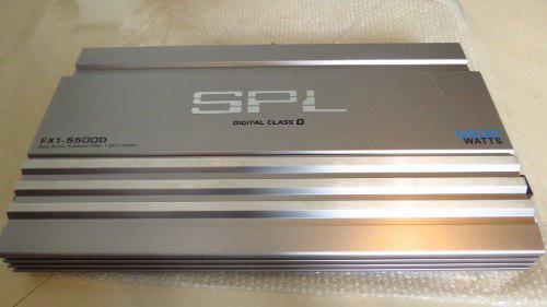 Planta amplificador spl 5500 vatios, para bajos 15 poco uso